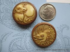 Vegetable Ivory Buttons