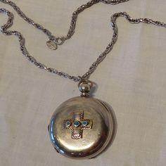 antique pocket watch necklace, featuring bob jack Old Pocket Watches, Pocket Watch Antique, Pocket Watch Necklace, Outdoor Men, Comfortable Outfits, Bob, Etsy Shop, Pendant Necklace, Antiques