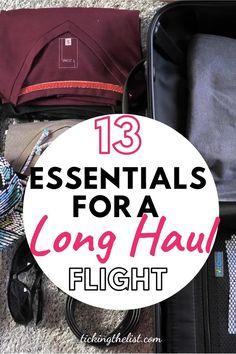 Long Haul Flights, Long Haul Flight Tips, Travel Things, Travel Items, Travel Stuff, Best Luggage, Hand Luggage, Have A Good Flight, Ultimate Packing List