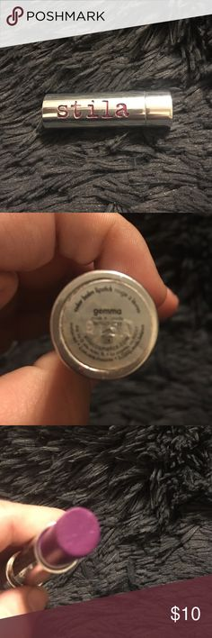 Stila lipstick, Gemma ** please see photos for condition! Some products are brand new but some have minimal professional usage. Price is reflective of usage.** ** ALL my products are authentic!** **any questions please ask before you purchase** ** happy shopping and I hope you enjoy!** Makeup Lipstick