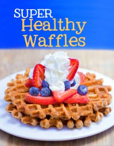 The simple & healthy waffle recipe that comes out perfect every single time. http://chocolatecoveredkatie.com/2013/06/17/healthy-waffles-recipe/