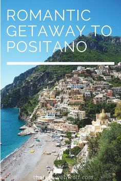 Planning a romantic getaway to Positano? Located on the Amalfi Coast Positano is a perfect Italian getaway for travelling couples. It's also a gorgeous destination for a wedding! To have a wedding in Positano would be a dream. Here's a romantic guide to Positano