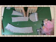 Tutorial muñeca rusa: Gorro, bufanda y calentadores - YouTube