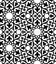 Image detail for -Seamless Islamic Pattern Royalty Free Stock Vector Art Illustration                                                                                                                                                                                 Plus