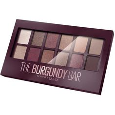 Maybelline Maybelline The Nudes Burgundy Eyeshadow Palette 9.6G ($16) ❤ liked on Polyvore featuring beauty products, makeup, eye makeup, eyeshadow, maybelline eye makeup, palette eyeshadow, maybelline eyeshadow, maybelline and maybelline eye shadow