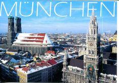 germany postcards | collect ROC: Germany Postcard: Munich