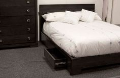 Barrymore Furniture - Dinec Queen Bed with Drawers