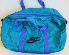 b20d36015677 Vintage 1990 s Nike Duffle Bag by FreshtoDeathVintage on Etsy Nike Duffle  Bag