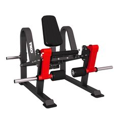 - Natural feel of free weights in a guided press - Biomechanically and ergonomically correct - Oversized pivot point for smooth lift and long lasting durability - Steel handles for added longevity and