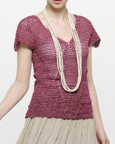 crochet top for summer