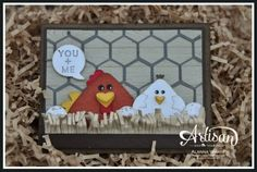 Artisan Wednesday Wow ~ Two Cute Chicks ~ Sleepless Stamper