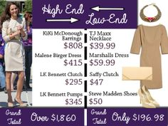 Get Kate Middleton's Look for LESS!