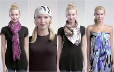 16 Different Ways To Wear A Scarf