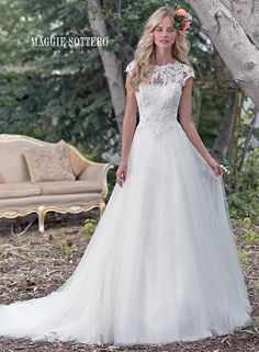 Large View of the Chandler Bridal Gown