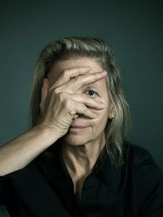 Portrait of Annie Leibovitz by John Keatly