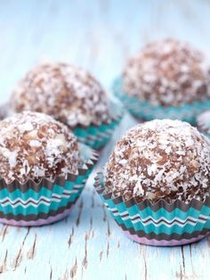 Almond-Walnut Truffles  An easy and healthy truffle recipe to make with your kids