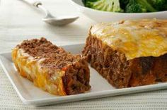 Quick and easy cheeseburger meatloaf