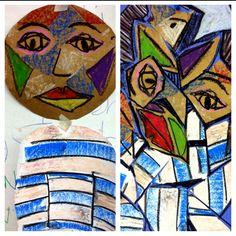 Kindergarten Picasso Lesson
