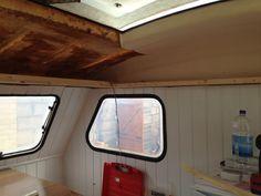 1989 Freedom Microlite caravan interior refurb renovation progress
