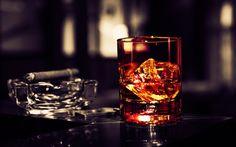 Smoking Whiskey.