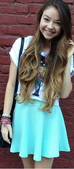 Mere after a trim!!!!! !!!!!!! I want her hair!!!! ❤❤❤❤- Lauren
