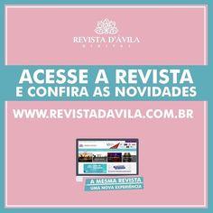 A Revista D'Ávila está de cara nova! Acesse e confira todas as novidades: http://ift.tt/1UOAUiP