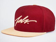 Signature Snapback Cap By JSLV
