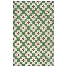 Opus Green 2 ft. x 3 ft. Area Rug