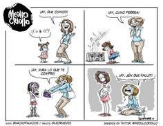 Esta caricatura de Meollo Criollo es mi favorita de los últimos tiempos... demasiado elocuente.