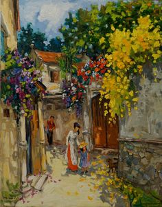 Kai Fine Art is an art website, shows painting and illustration works all over the world. Landscape Art, Landscape Paintings, Scenery Paintings, Surrealism Painting, Impressionist Art, Texture Painting, Contemporary Paintings, Painting Techniques, Graphic Illustration
