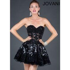 Jovani 72719 ($500) ❤ liked on Polyvore featuring dresses, short dresses, vestidos, ariana grande, black dress, kohl dresses, black mini dress and mini dress