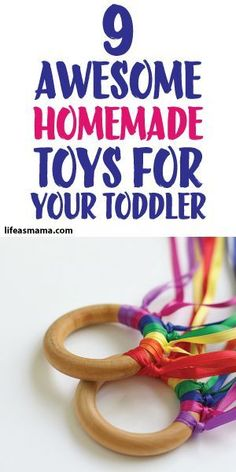 9 Awesome Homemade Toys For Your Toddler