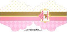 Convite Cupcake Carrossel Encantado