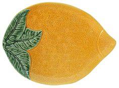 Prato laranja - Bordalo Pinheiro