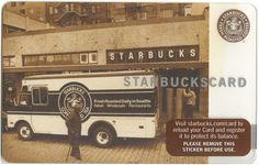 """STARBUCKS Tradition Card 