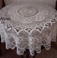 Круглая филейная скатерть крючок Crochet Tablecloth Pattern, Crochet Doily Patterns, Crochet Mandala, Baby Knitting Patterns, Crochet Doilies, Crochet Lace, Crochet Stitches, Crochet Hooks, Free Crochet