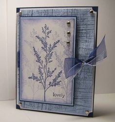 IC128 Blue Garden by knightrone - Cards and Paper Crafts at Splitcoaststampers