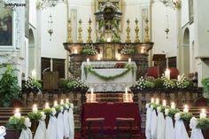 Αποτέλεσμα εικόνας για addobbi chiesa matrimonio con candele