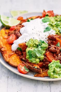 Sweet Potato Nachos - The Little Green Spoon