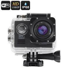SJ9000 Wi-Fi HD Action Camera (Black) $149.49