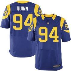 fc0eacfe4 ... Mens Los Angeles Rams 94 Robert Quinn Royal Blue Alternate NFL Nike  Elite Jersey ...