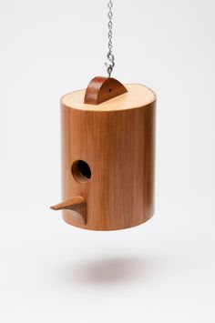 The perfect birdhouse!  Teardrop by KoolBIrd on Etsy.