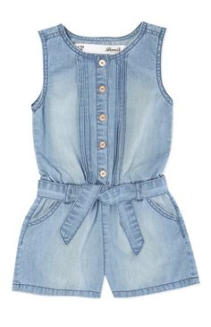 Rompers For Teens, Jumpsuits For Girls, Cute Rompers, Toddler Outfits, Kids Outfits, Summer Outfits, Baby Girl Dresses, Baby Dress, Baby Girl Fashion
