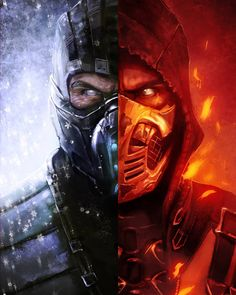 #Scorpion #SubZero Ice & Fire