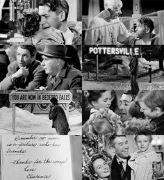 It's A Wonderful Life.  Classic! Best Christmas movie ever