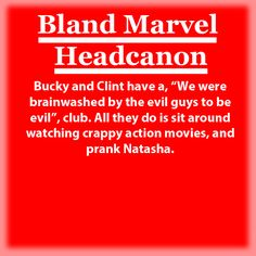 Bland Marvel Headcanons [New]