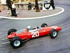 1964 Monaco GP, Monte Carlo : Lorenzo Bandini, Ferrari 156 #20, Scuderia Ferrari, Qualifying. (ph: © Watson)