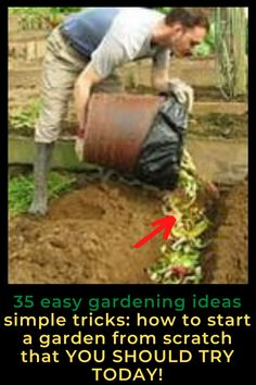 AWESOME DIY IDEAS FOR YOUR GARDEN garden ideas, gardening ideas, gardening for beginners, gardening design, gardening tools, gardening hacks, gardening and landscape, gardens and gardening ideas #gardening #gardenhacks #gardeningideas Gardening For Beginners, Gardening Tips, Starting A Vegetable Garden, Vegetable Gardening, Easy Garden, Spring Garden, Growing Plants, Dream Garden, Amazing Gardens