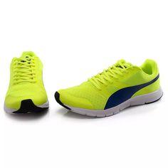 0b990b6f38 tênis puma flex racer bdp - limão royal tamanho 39
