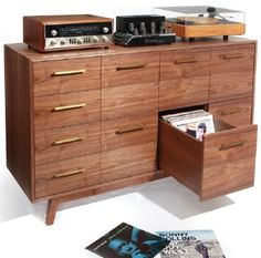if I was rich, this could be the perfect place for my vinyls